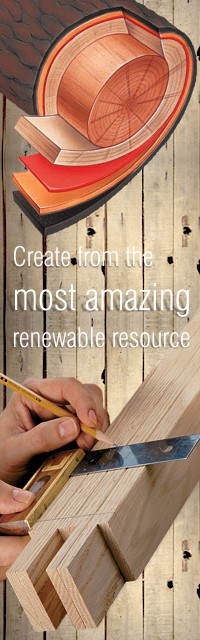 Create with passion from a renewable source